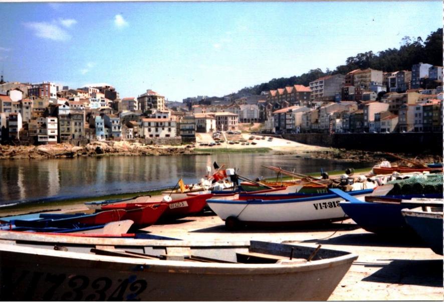 Vista del puerto de A Guarda