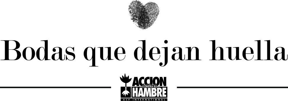 Logo campaña Bodasquedejanhuella